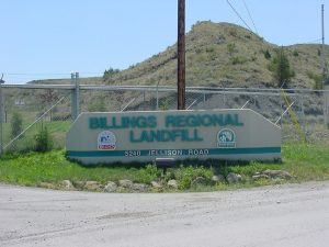 Billings Regional Landfill Sign
